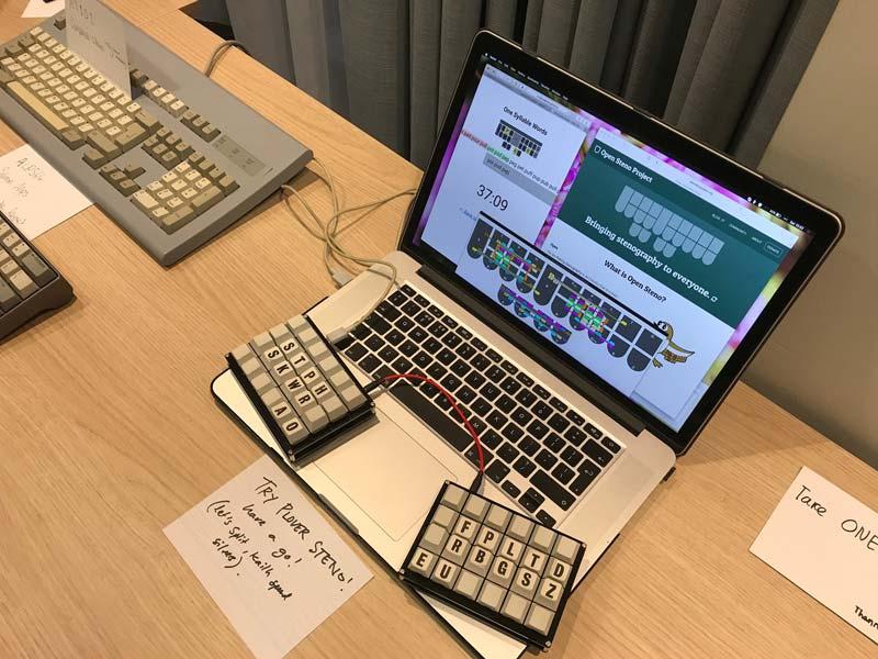 Mechanical Keyboards Meetup U K  - My Plover Demonstration · MJP